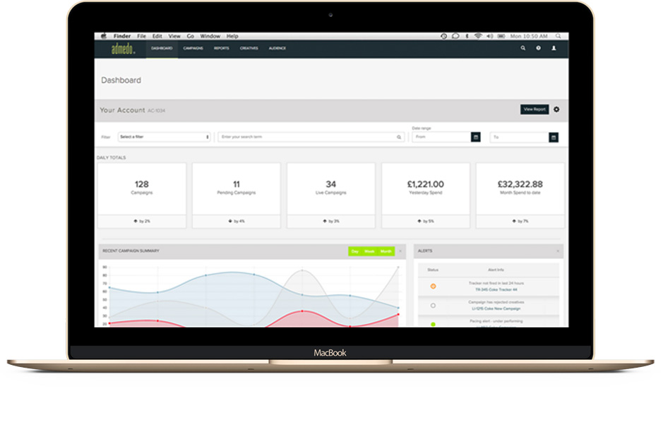 Admedo Dashboard