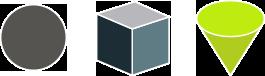 Square blocks icon