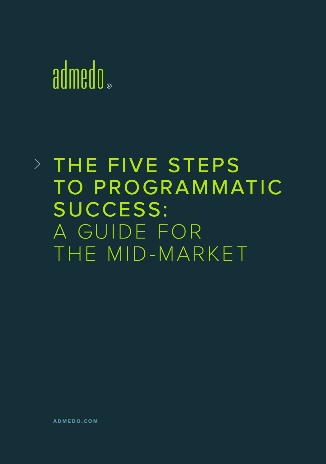 Five Steps to Programmatic Success