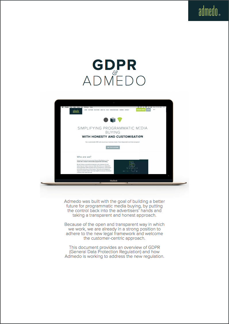 GDPR and Programmatic